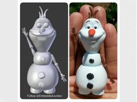 小雪人雪宝